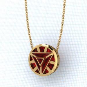 Iron man reactive arc jewelry