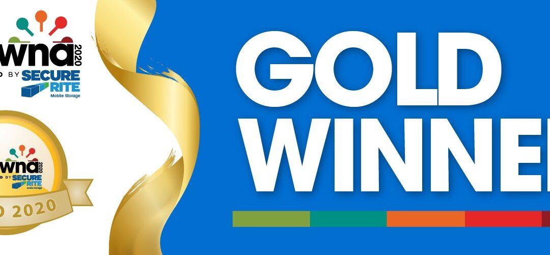 Gold Winner! 2020 Best of Kelowna
