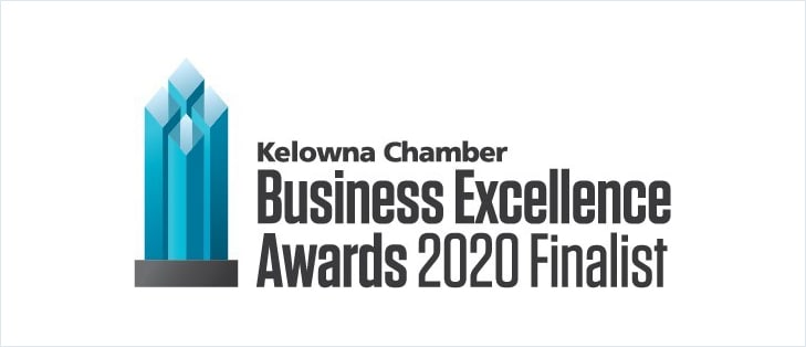 Kelowna Chamber of Commerce Business Excellence Award 2020 Finalist