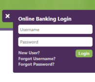 online banking login preview