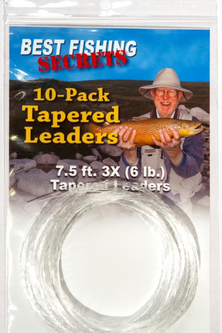 10-Pack - 7.5', 3X (6lb.)