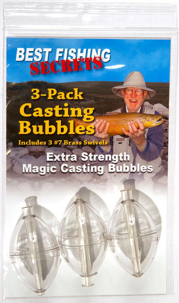 3-Pack - Magic Casting Bubbles
