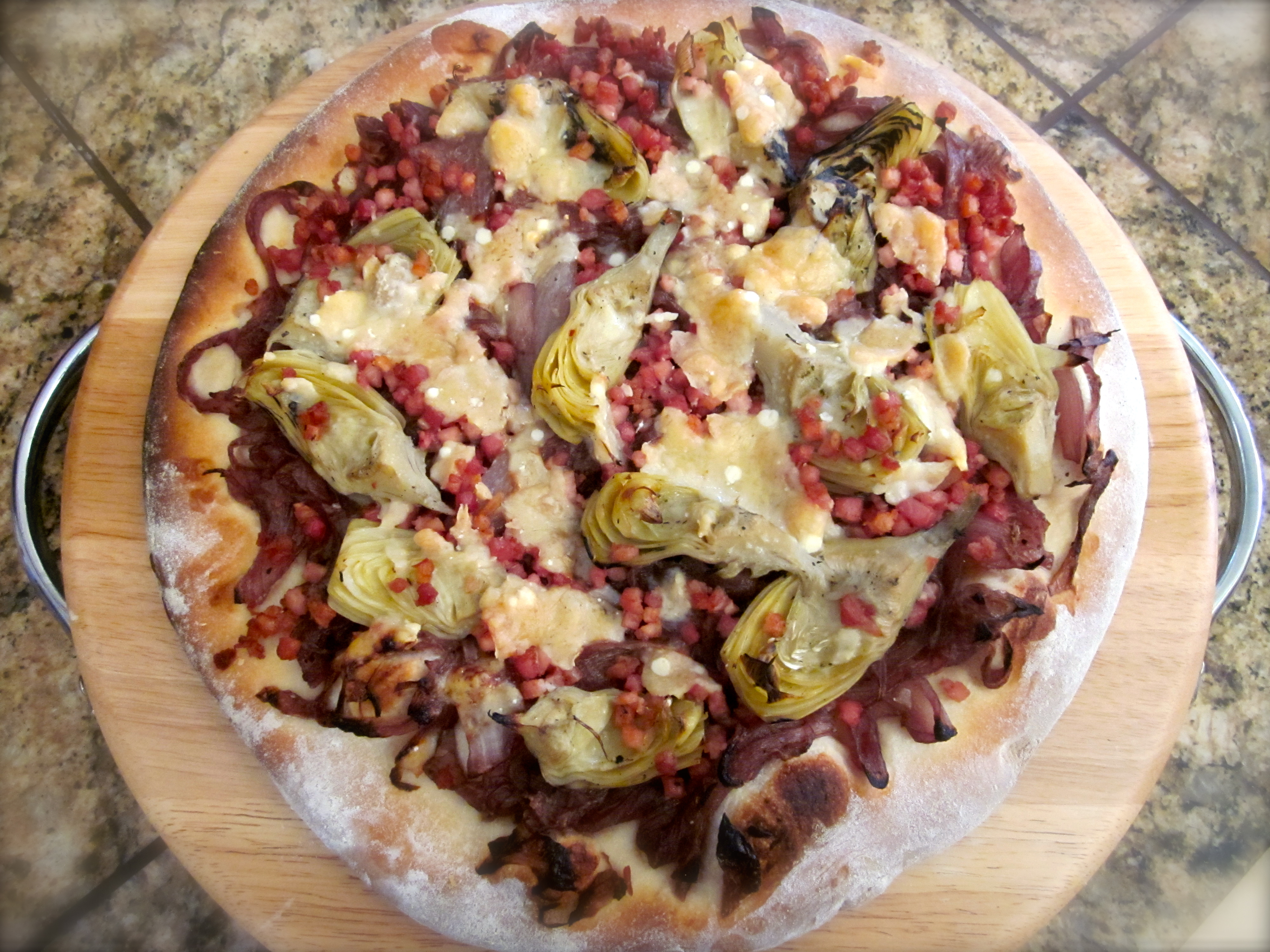 CELEBRATING 2013: PIZZA with ONION CONFIT