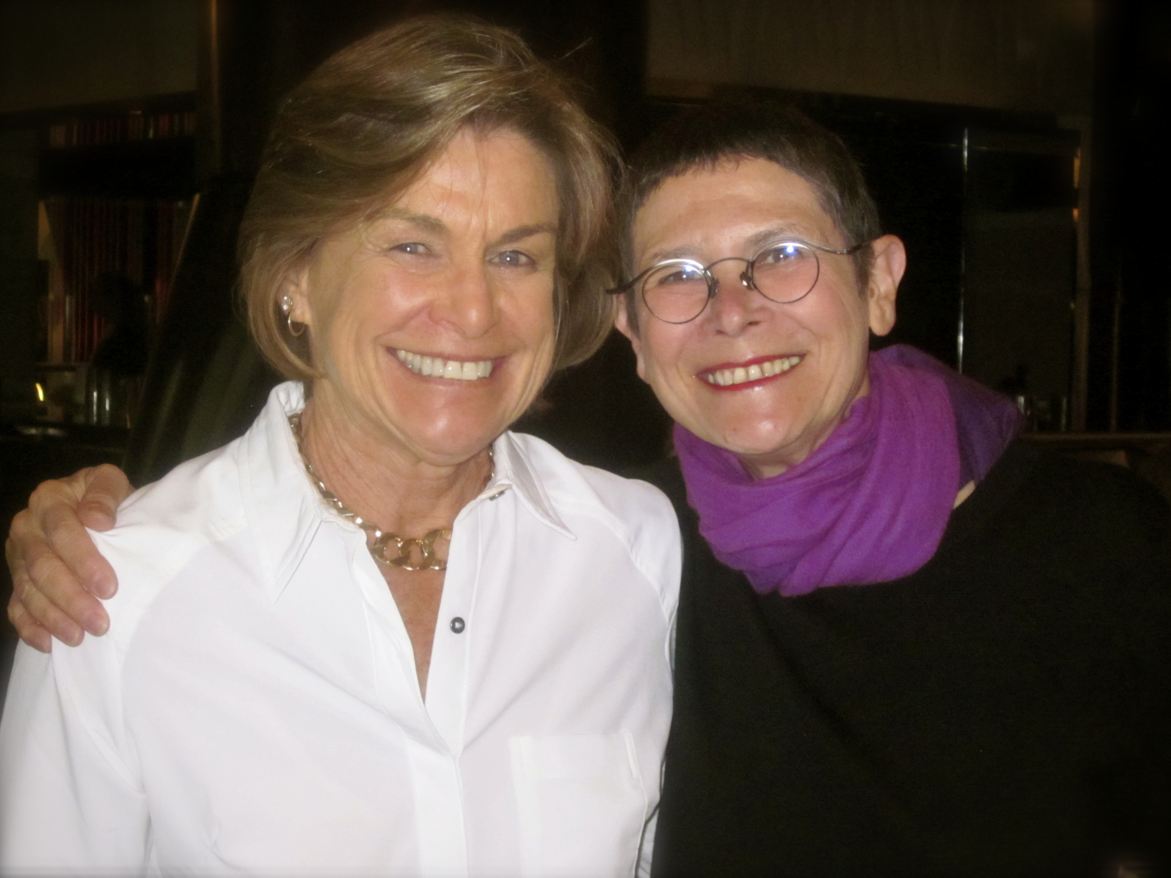 With Dorie Greenspan who was the keynote speaker at last year's IFBC in Seattle.
