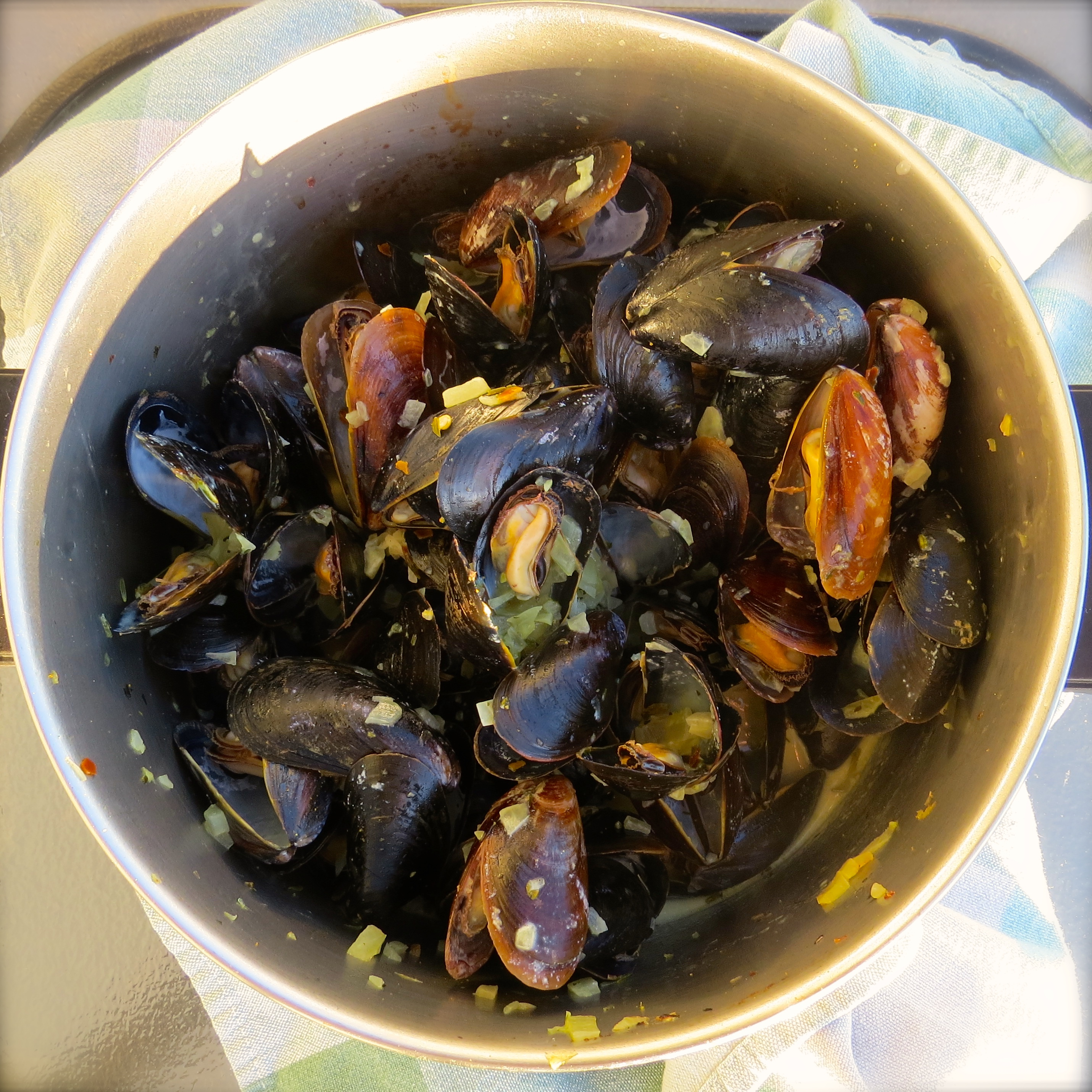 Curried Mussels, our French Fridays with Dorie recipe of the week.