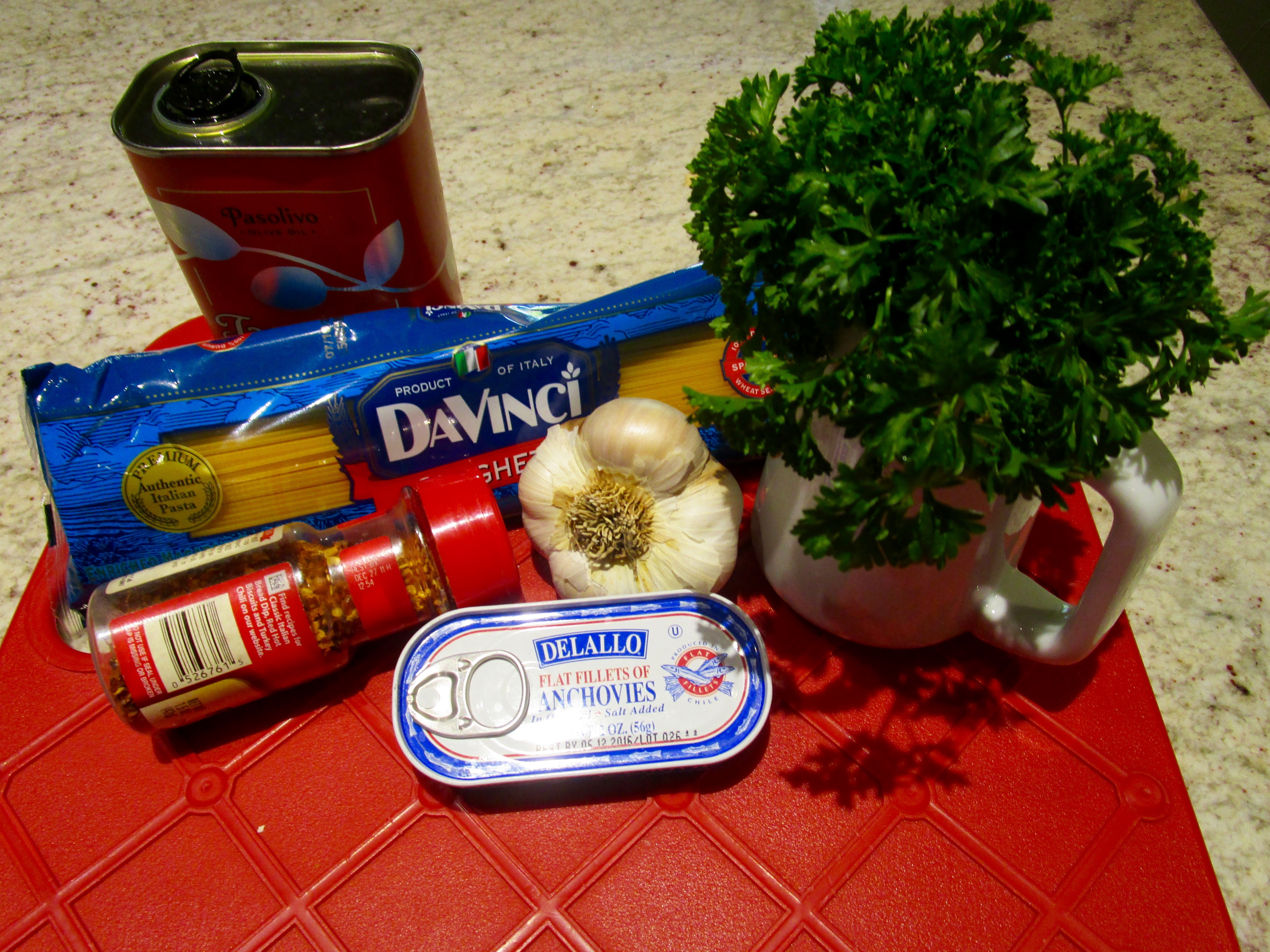 """MY PANTRY WAS UP TO THE TASK OF PROVIDING """"COMING HOME PASTA"""" WHEN I RETURNED TO ASPEN AFTER AN 8-DAY TRIP."""