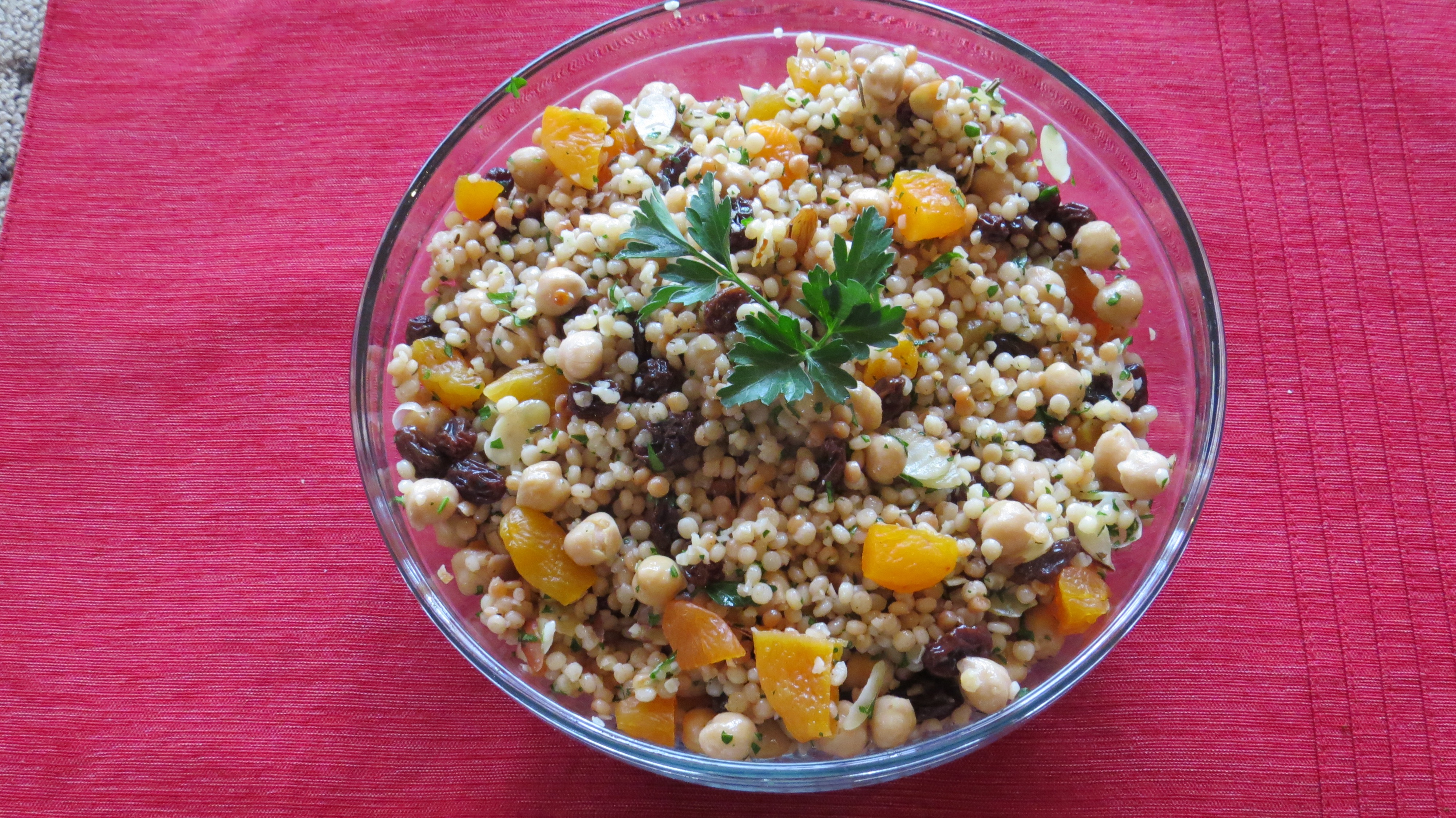 Moroccan-spiced Couscous