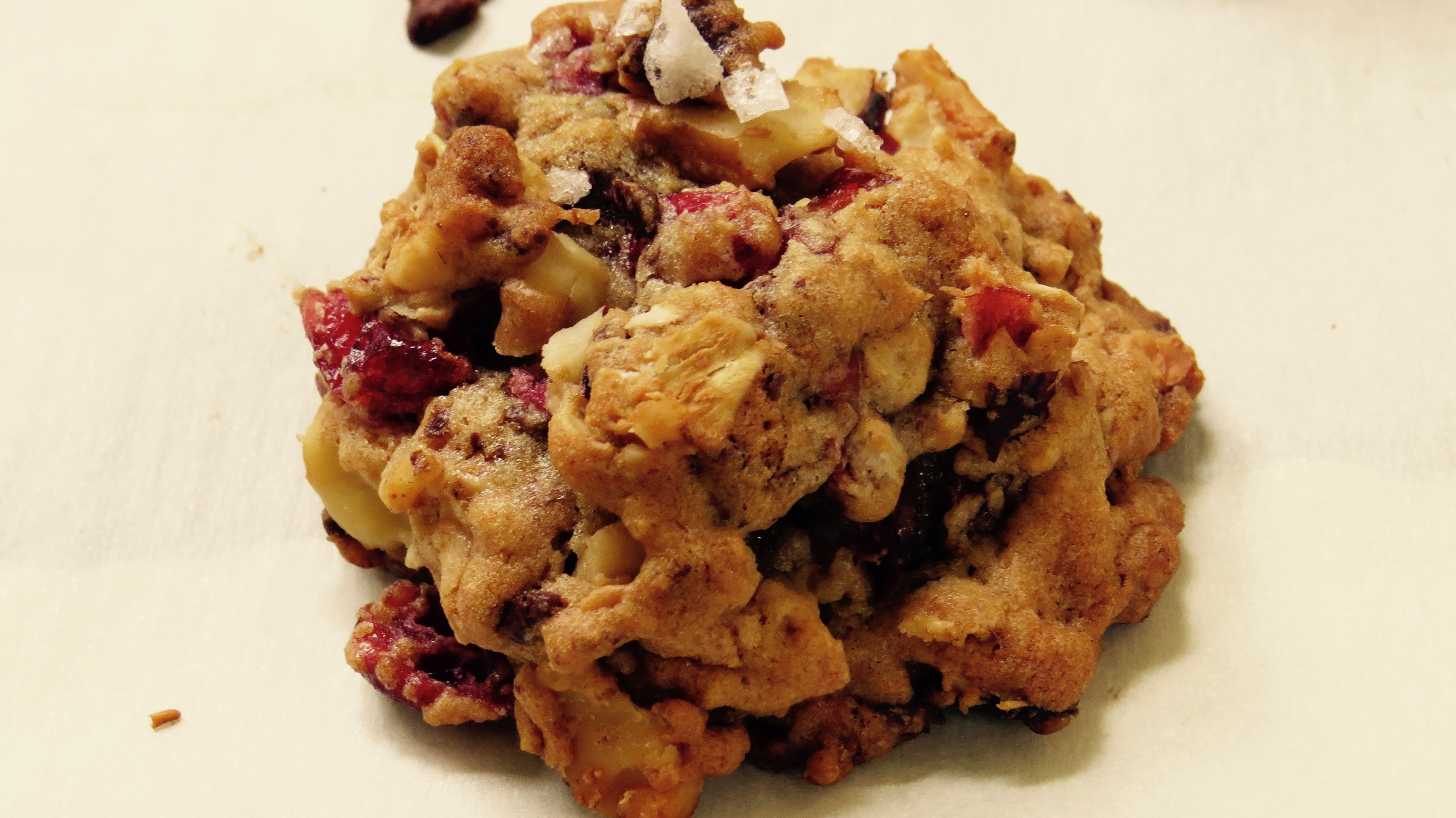 Mmmmm. dark chocolate, dried cherries, toasted walnuts and oatmeal - what's Better Than This?