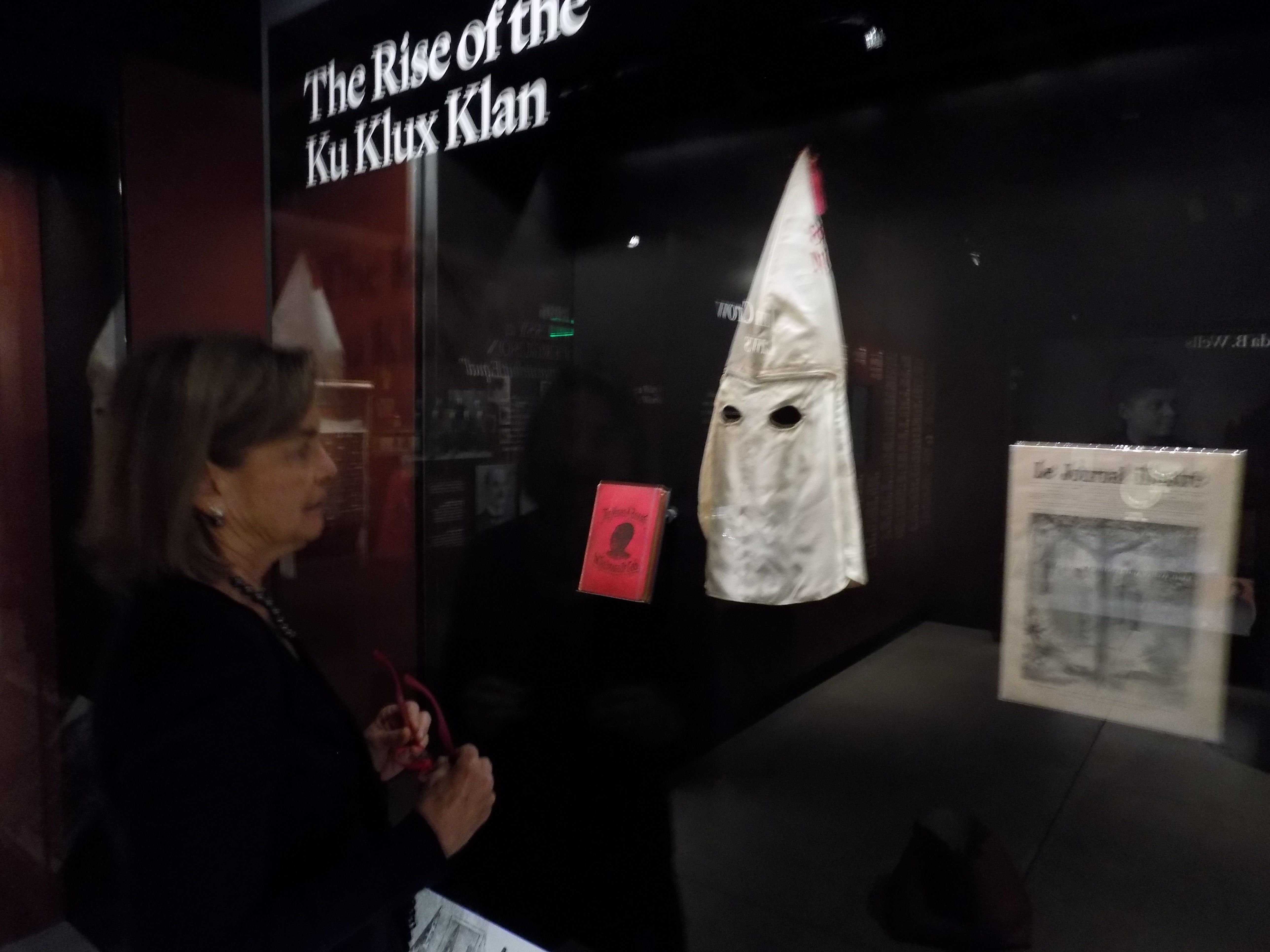 THE TERRIFYING KU KLUX KLAN ORIGINATED IN THE SOUTH IN 1865  IT IS STILL AN ACTIVE ORGANIZATION TODAY AND HAS INSERTED ITSELF INTO THE PRESIDENTIAL ELECTION. DAVID DUKE OF LOUISIANA, A FORMER IMPERIAL WIZARD OF THE KKK, IS CURRENTLY RUNNING FOR THE US SENATE.