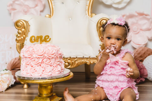 Charlotte cake smash photographer