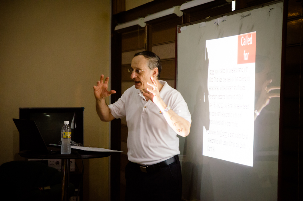 Dr. Dalseno teaching with passion