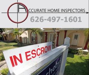 Escrow Home Inspections Pasadena Arcadia