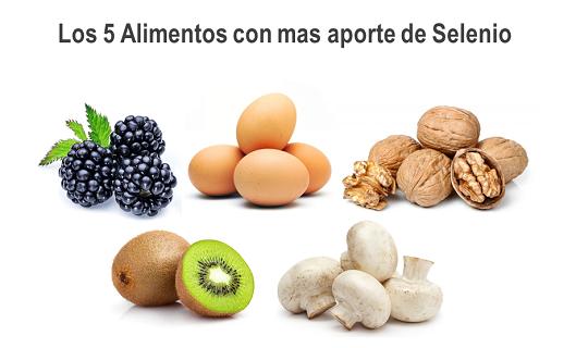 los 5 alimentos con mas aporte de selenio, ricos en selenio