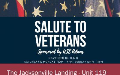 Salute To Veterans Celebration At The Jacksonville Landing