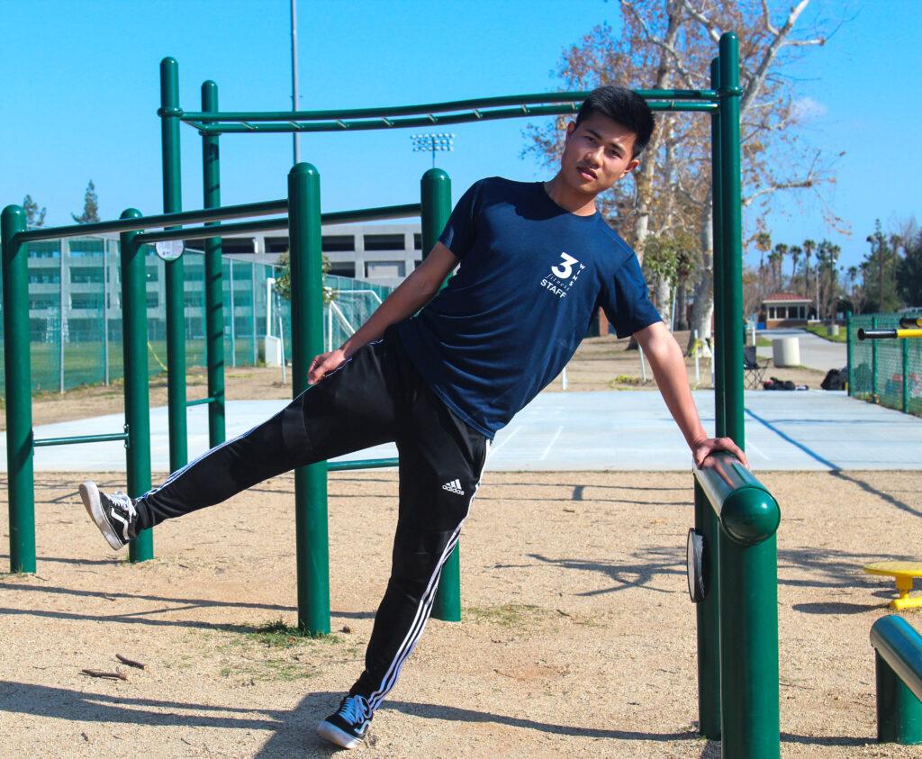 Standing Lateral Leg Raises