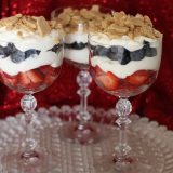 Memorial Day or 4th of July Fruit Parfaits
