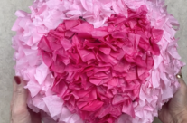 How to Make a Piñata for Valentine's Day!