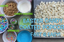 Easter Candy Coated Popcorn