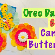How to Make Dipped Oreo Daisies & Candy Butterflies