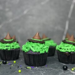 Halloween Witches Cupcakes