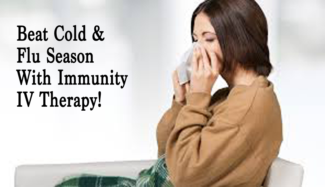 IV flu therapy is the new chicken soup for flu recovery