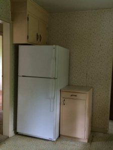 Dated Kitchen - Before Renovation