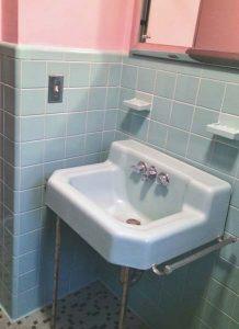 Blue Bathroom Fixtures