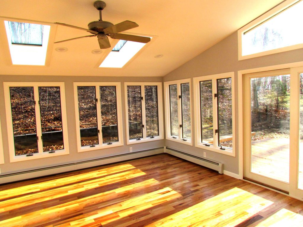 Finished Sun Room Bethany CT