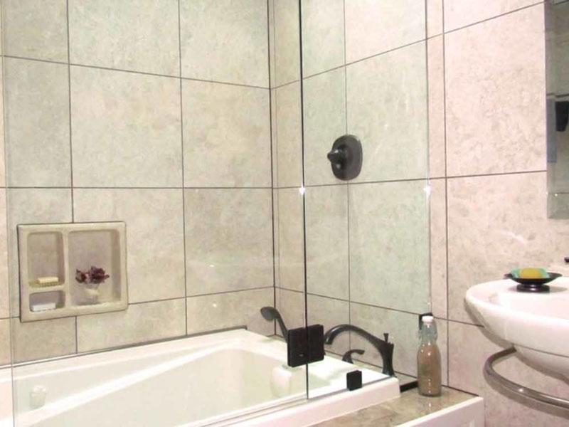 Bathroom Tile Closeup Project