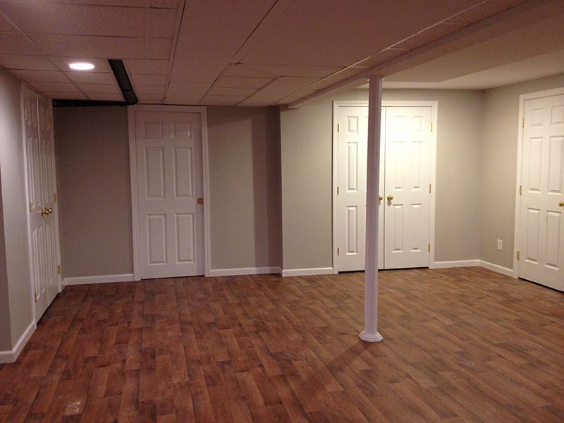 Basement Area New Space