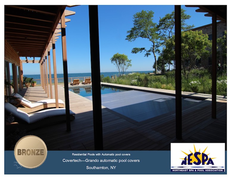 Covertech - Grando automatic rigid free form pool cover Bronze Award North East Pool _ SPA 2016