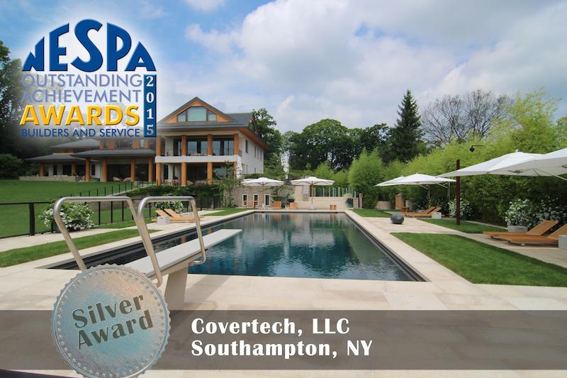 Covertech - Grando automatic rigid free form pool cover Silver Award NESPA 2015