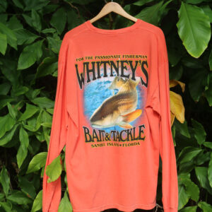 whitneys coral shirt back