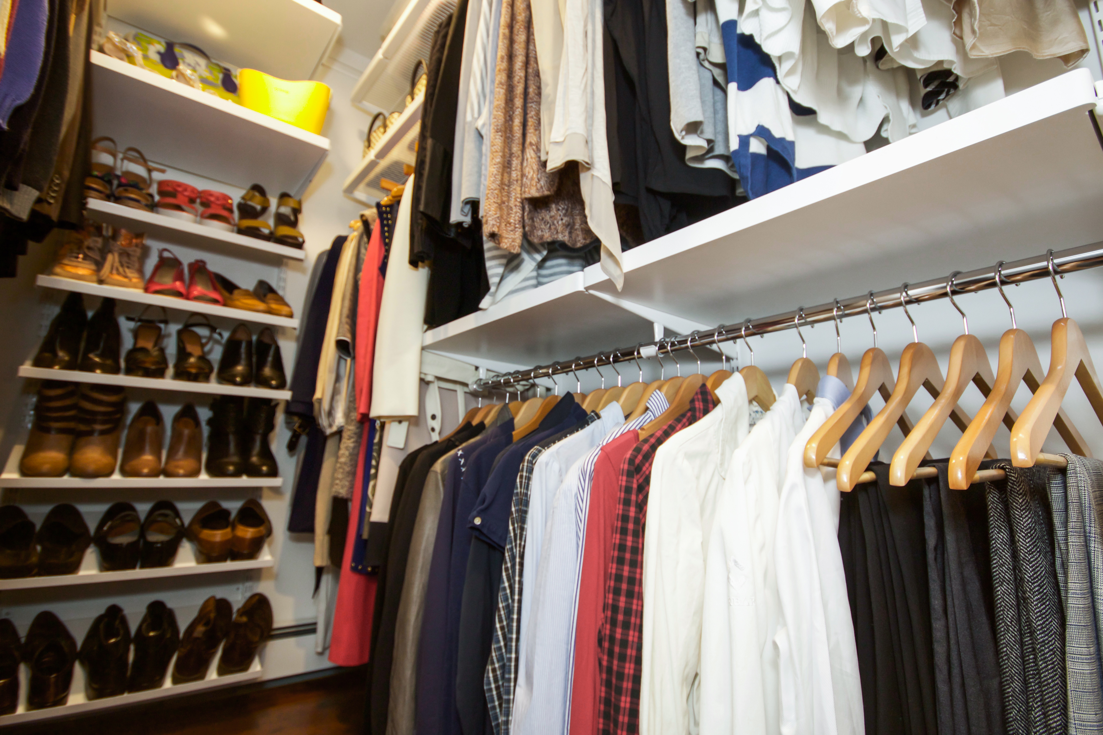 Fall Clothes organized