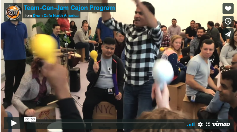 Corporate Social Responsibility & Our New Team-Can-Jam Cajon Program