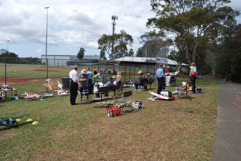 Some of the pilots & models present on the day
