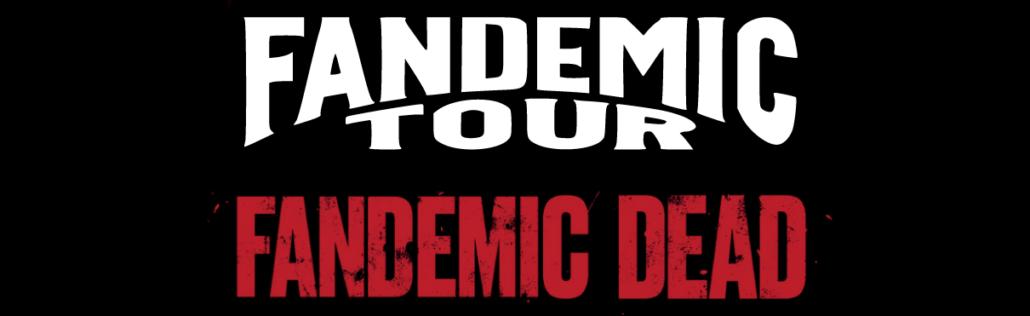 Fandemic Tour banner