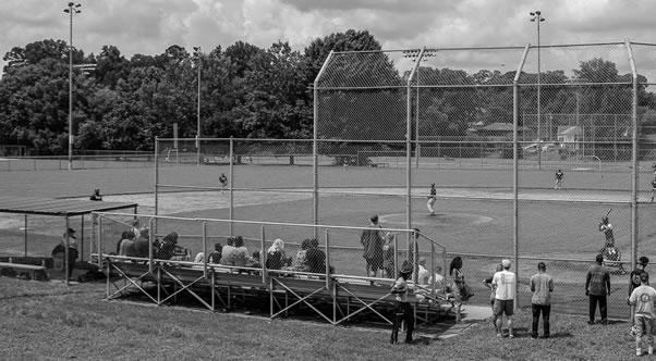 Moore-Clendenon Baseball Field on the historic campus of Booker T. Washington High School