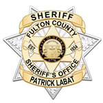 Fulton County Sheriffs Office badge