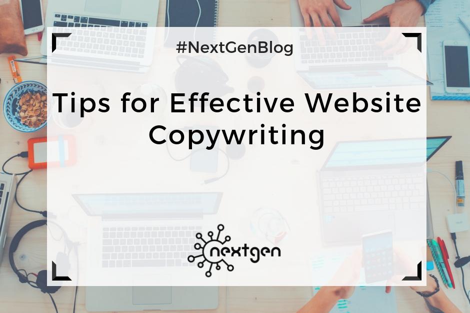 Tips for Effective Website Copywriting