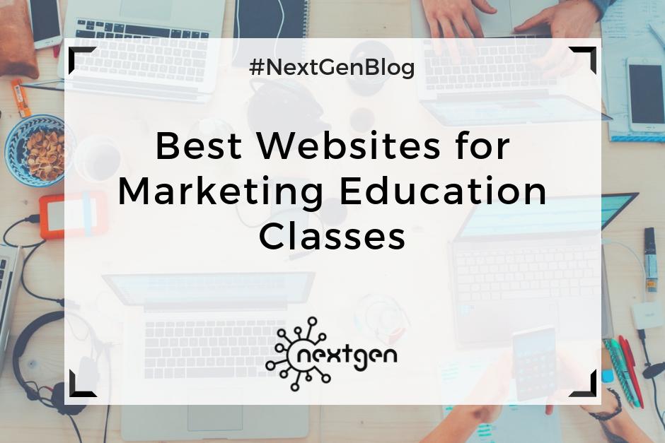 Best Websites for Marketing Education Classes