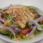 Char Chicken Salad