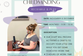 Coworking with Childminding – Nov/Dec cohort