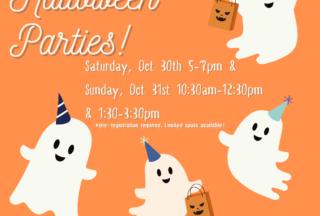 Halloween Parties!
