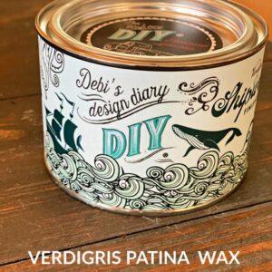 DIY Verdigris Wax
