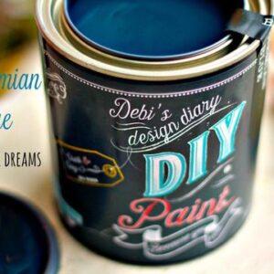 Bohemian Blue DIY Paint