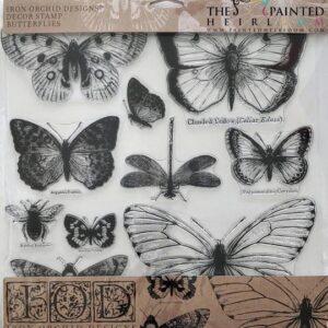Butterflies 12x12 Decor Stamp™