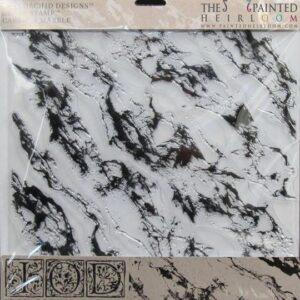 Carrara Marble 12x12 Decor Stamp™