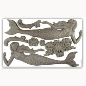Sea Sisters 6x10 Decor Moulds™