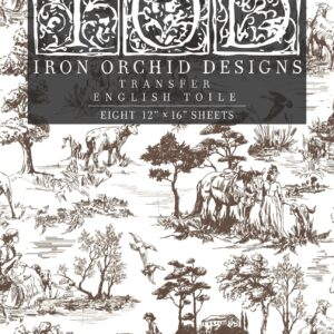 English Toile Transfer Set by IOD - Iron Orchid Designs